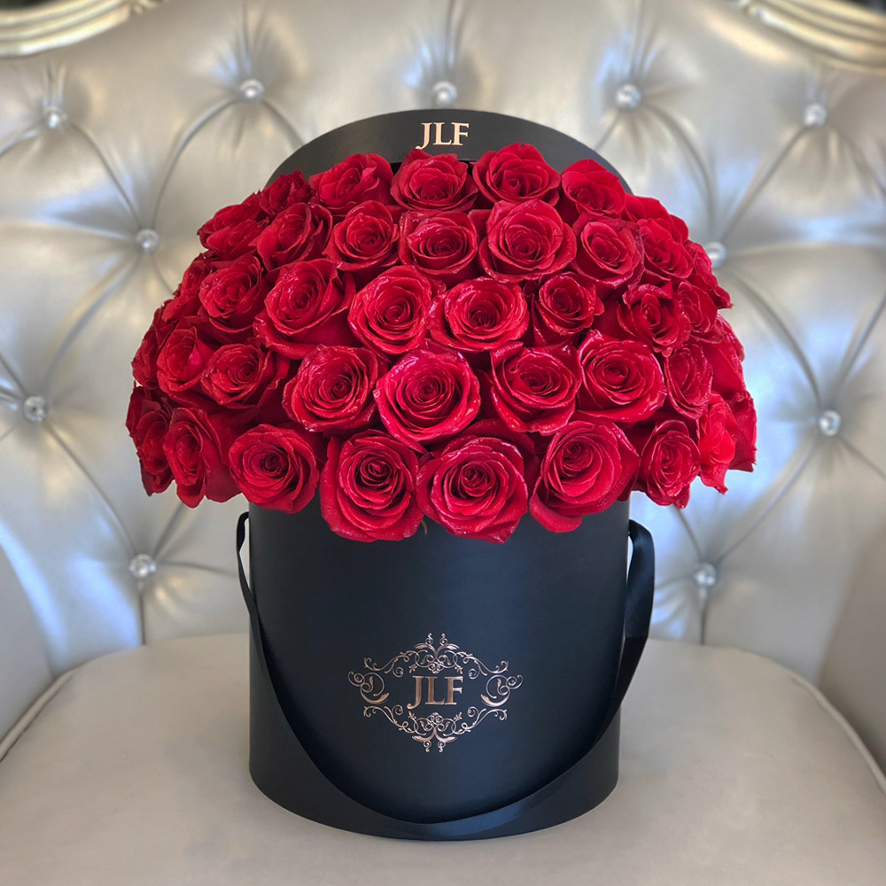 Signature 50 Red Rose Box