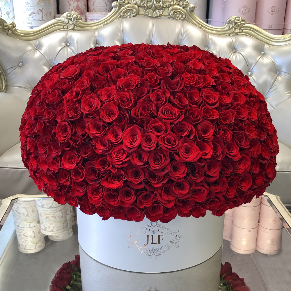 Grandiose 400 Red Rose Box