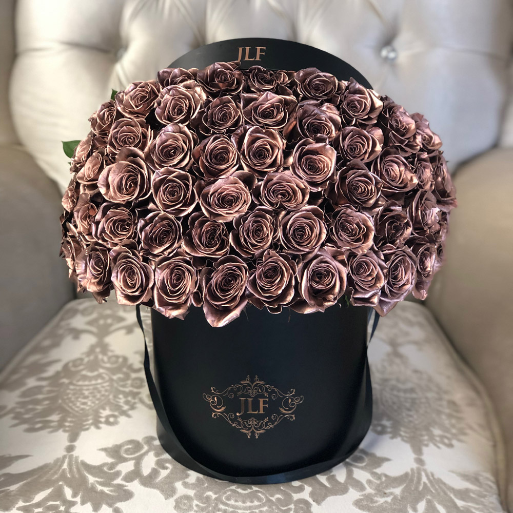 Signature 50 Rose Gold Box
