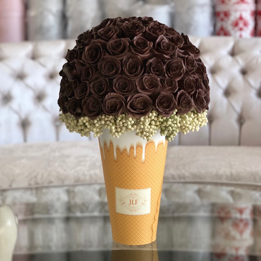 Your Chocolate Flavour in Ice-Cream Cone