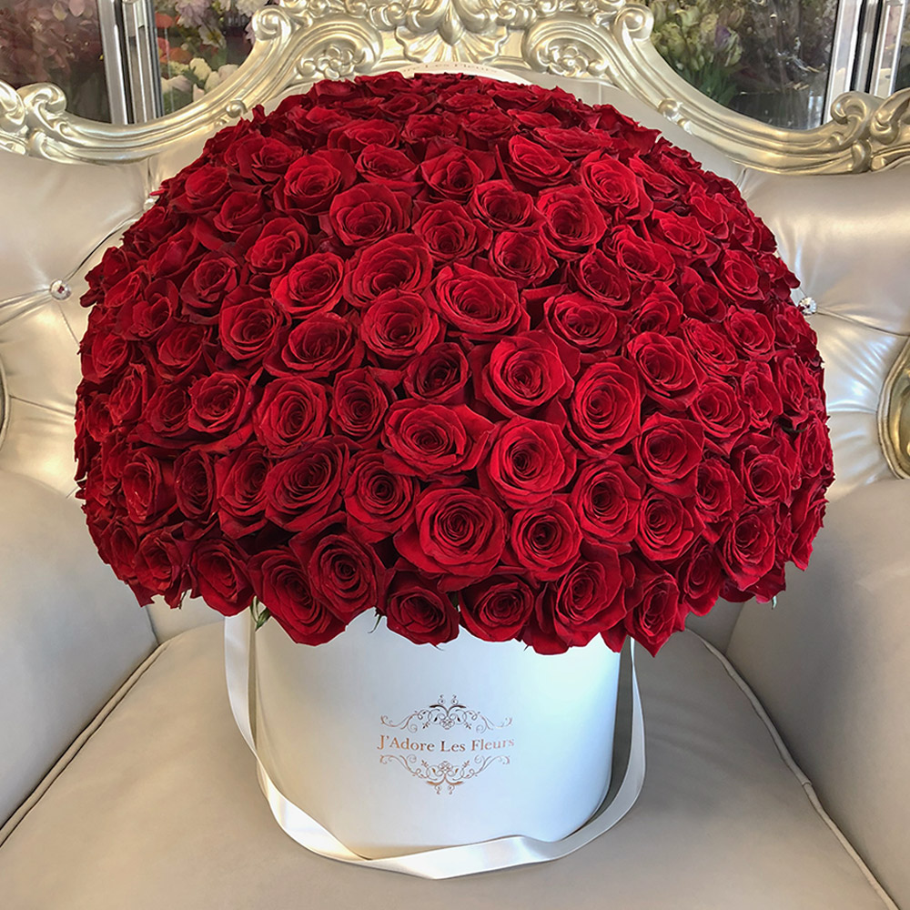 JLF Signature 150 Red Rose Box