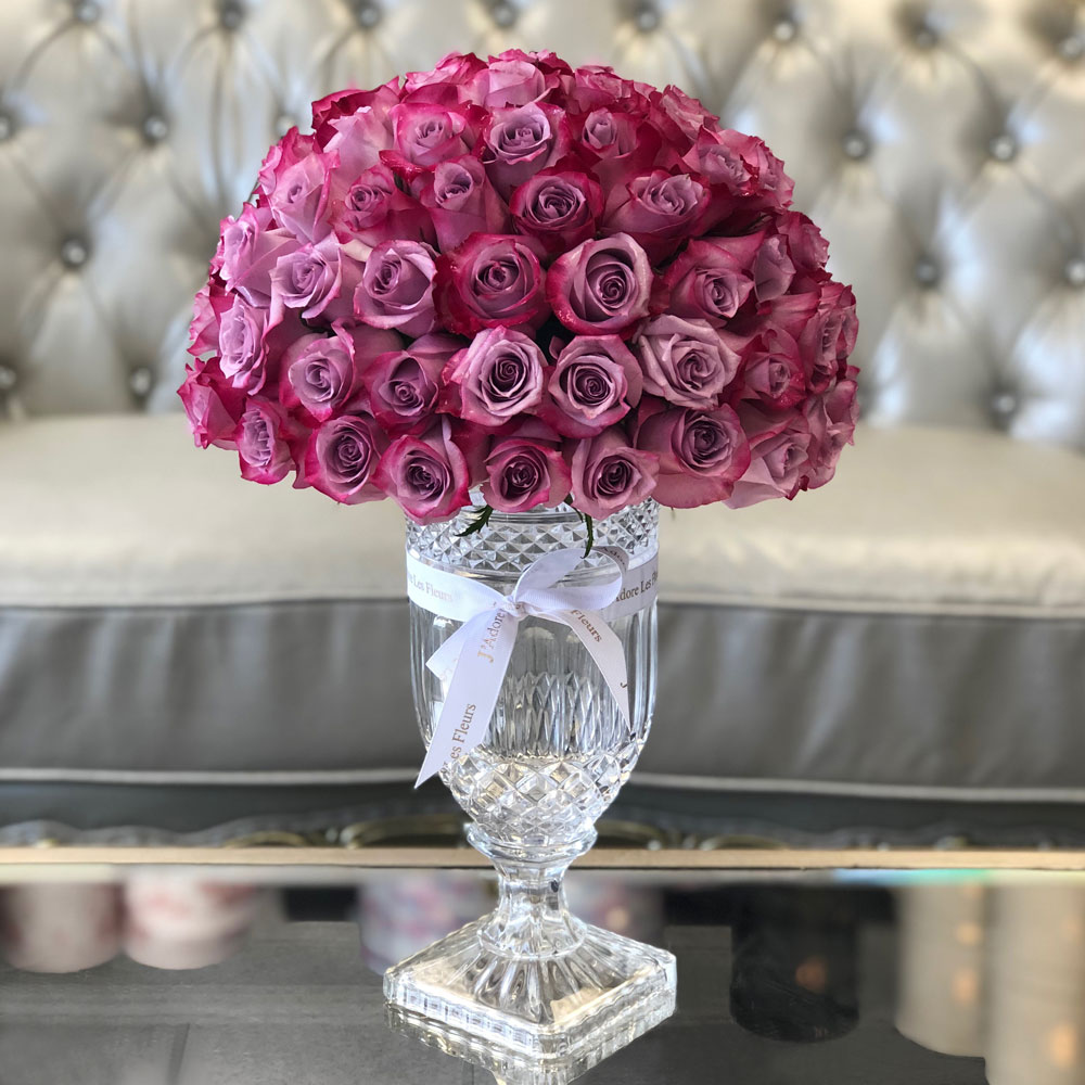The Perfect Roses In The Perfect Glass Vase