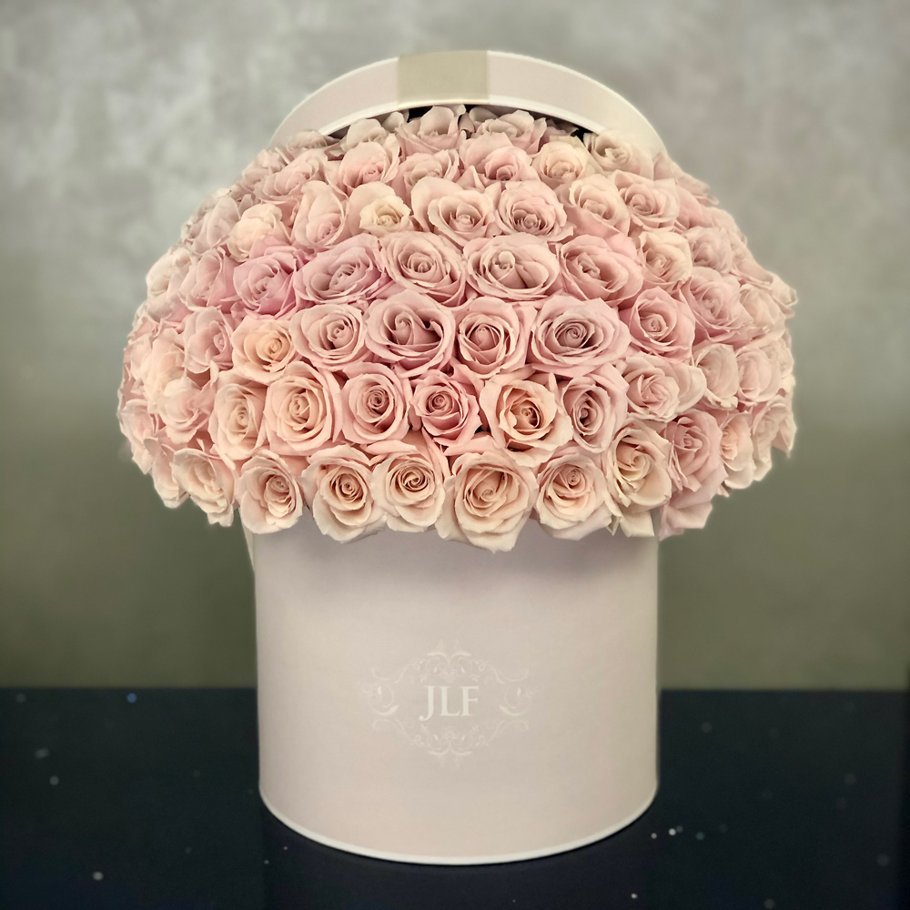 JLF Signature Sweet Eskimo Rose Box