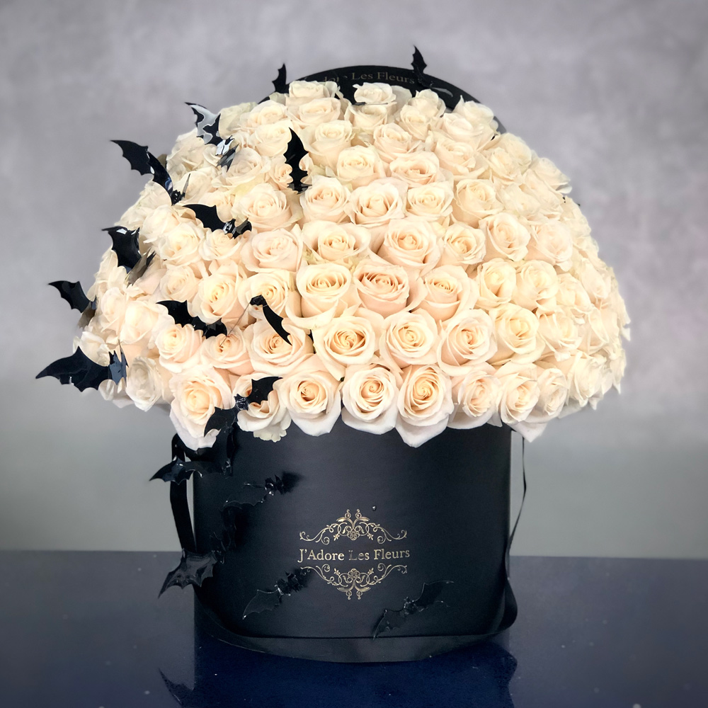 Signature 75 White Rose Box With Bats