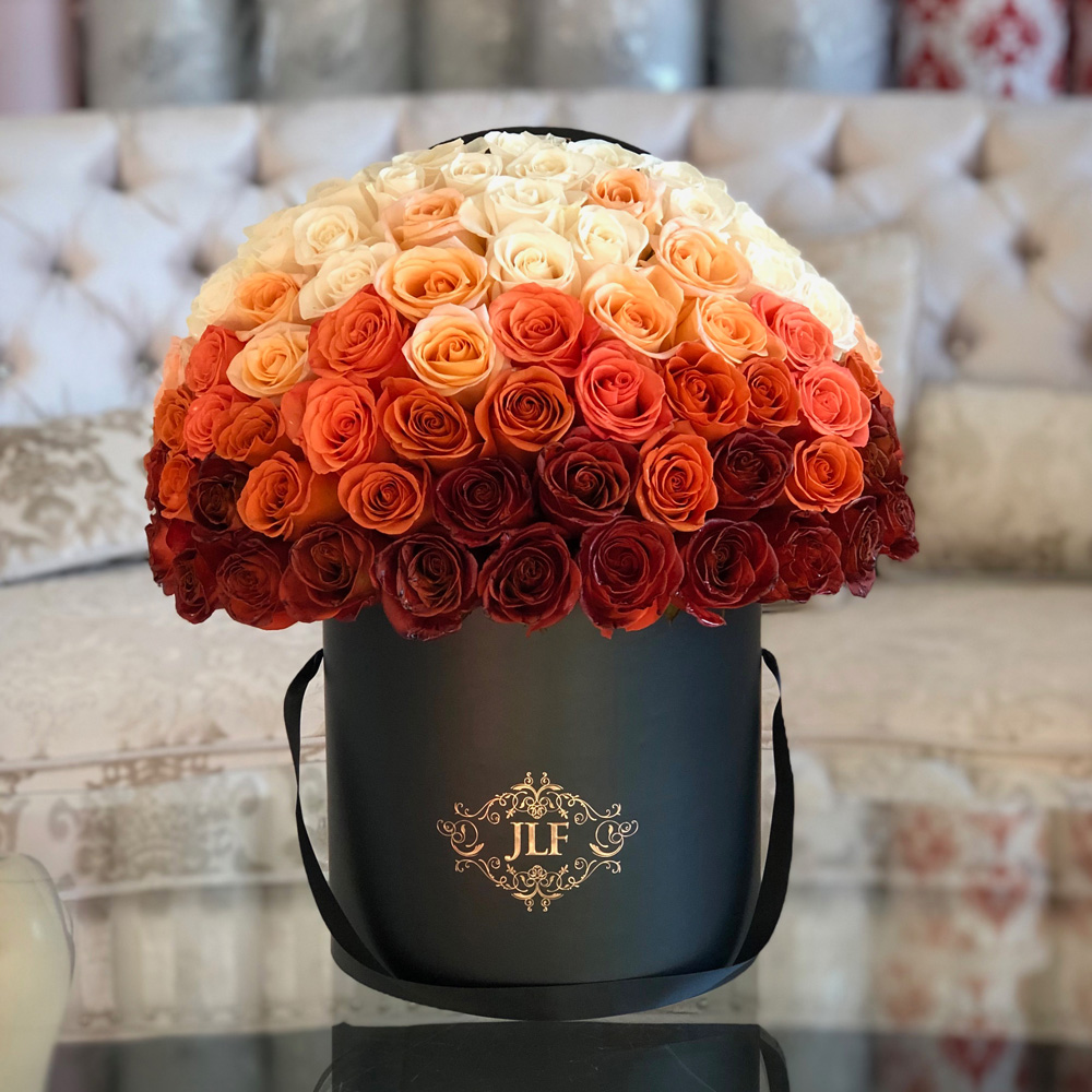 Autumn Signature Ombre Roses