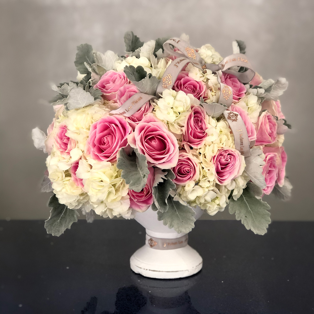 Beauteous Blooms in a Vase