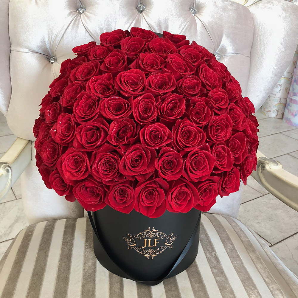 Signature 75 Red Rose Box