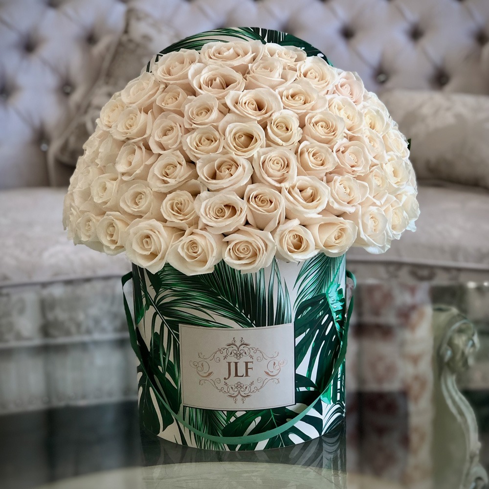 JLF Signature 50 White Rose Box